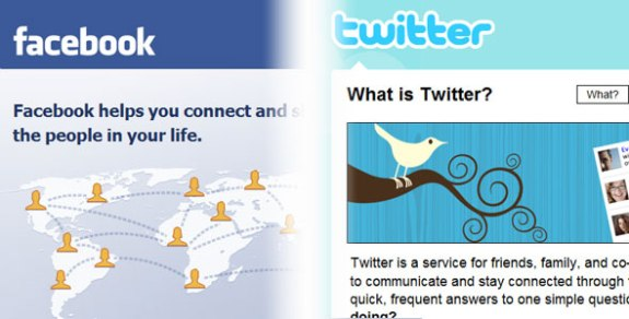 Facebook and Twitter security threats