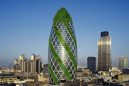 Gherkin building goes green!