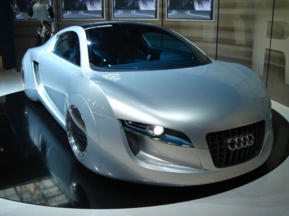 The Audi car from the science fiction movie I, Robot