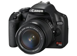 Canon EOS Digital Rebel T1i with 18-55 IS Lens Kit