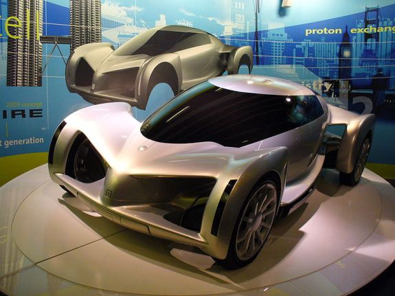 General Motors Hy-wire hydrogen Concept Car