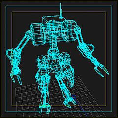 Robot-Wireframe