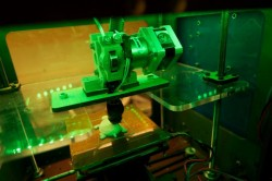 3D printer photo by Keith Kissel. License: CC BY 2.0.