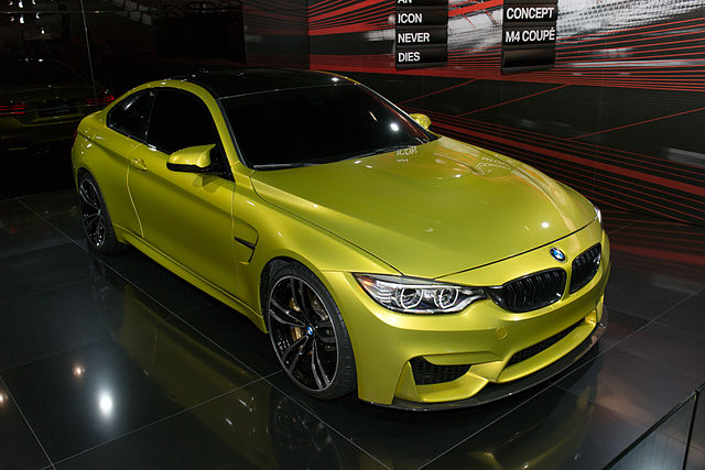 BMW M4 Coupe 2013. Photo by Morio. License: CC BY-SA 3.0.