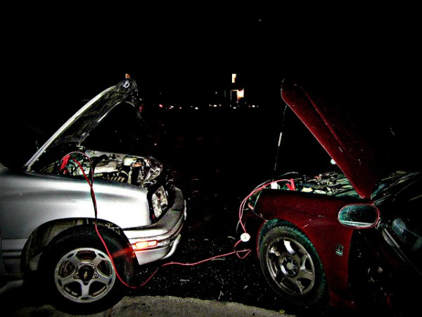 Car Jumper Cables. Photo by Cali4beach. License: CC BY 2.0.
