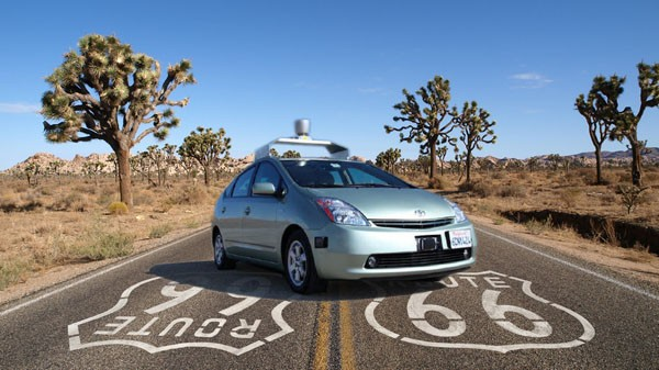 Google Car photo by Sam Churchill. License: CC BY 2.0.