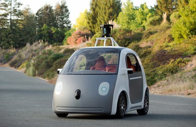 Google Car photo by smoothgroover22. License: CC BY-SA 2.0.
