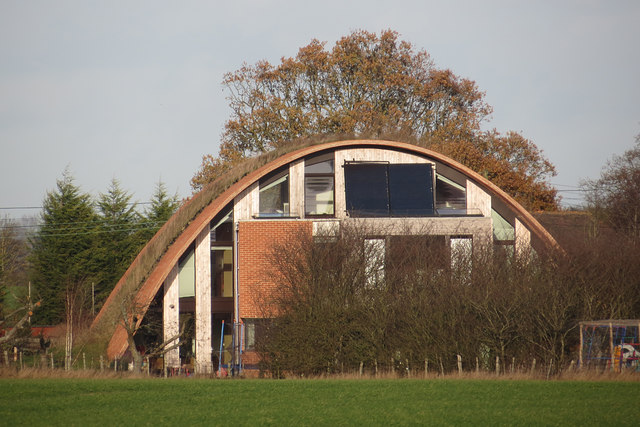 Zero Carbon House in Crossway, Staplehurst, UK. Photo by Oast House Archive. License: CC BY-SA 2.0.