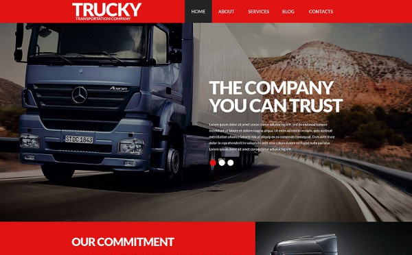 Logistics Company WordPress Theme