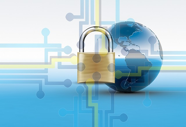 SSL Website Globe Lock